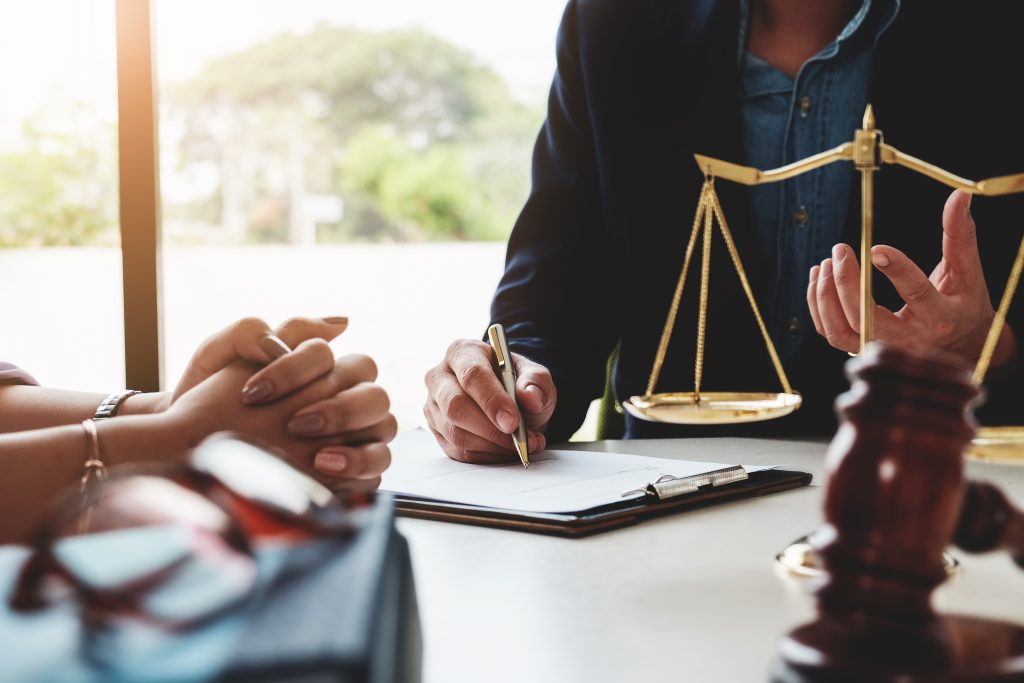 Solicitor running a personal injury claim