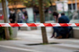 Accident in public